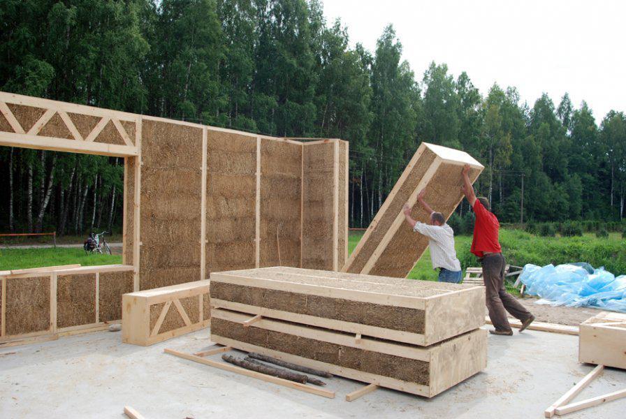 MAISON EN PAILLE - CONSTRUCTION PASSIVE