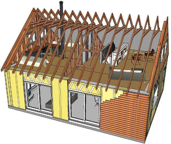 Maison En Paille  Construction Passive