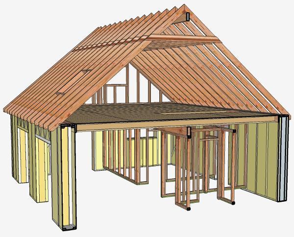 maison en paille construction passive. Black Bedroom Furniture Sets. Home Design Ideas