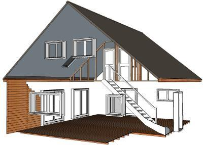 kit maison paille. Black Bedroom Furniture Sets. Home Design Ideas