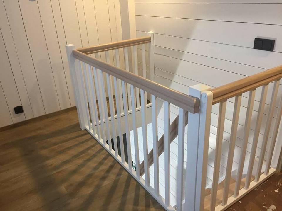 escalier maison en bois. Black Bedroom Furniture Sets. Home Design Ideas