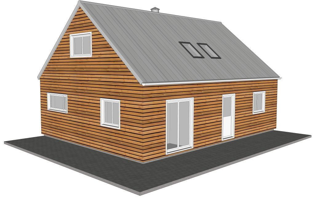 maison bois syma obtenez des id es de design int ressantes en utilisant du bois. Black Bedroom Furniture Sets. Home Design Ideas
