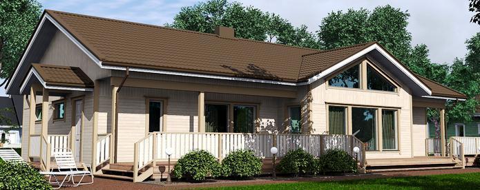 Maisons bois classiques de plain pied for Architecture classique definition