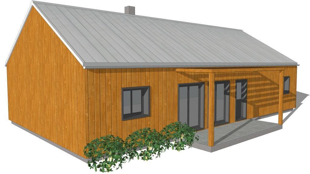 Bardage maison moderne stunning toiture zinc with bardage for Maison moderne zinc