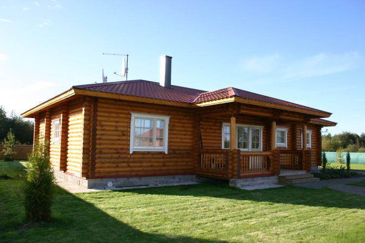 Maisons bois classiques de plain pied