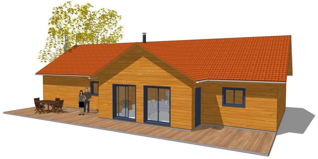 Maison finlandaise trs grand gamme with maison for Maison en bois finlandaise