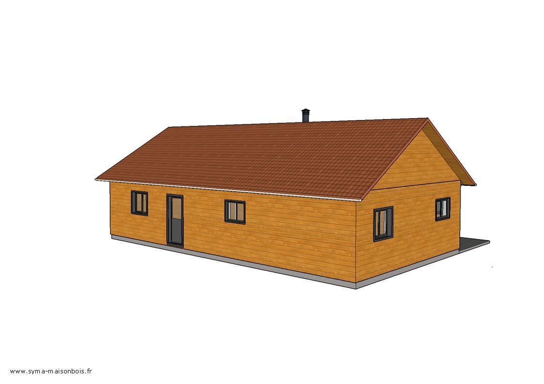 Votre maison bois sur mesure # Maison En Bois Sur Mesure