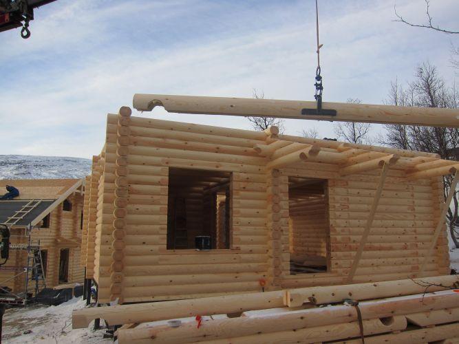 Montage maison bois par des professionnels for Montage maison bois